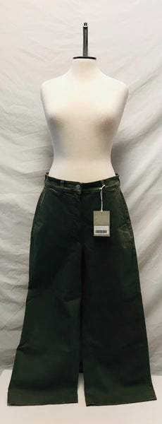 Medium Size 10 / Pants / Everlane / Green Wide Leg Crop Pant