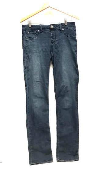Medium / Pants / Blue Denim Jeans