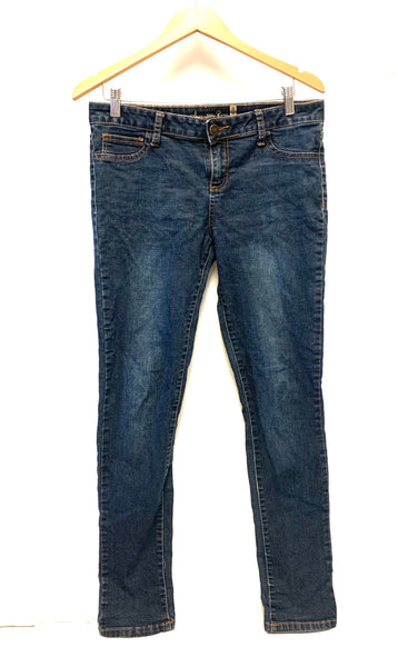 Medium Large Size 11R / Pants / American Rag / Blue Denim Jeans Super Skinny