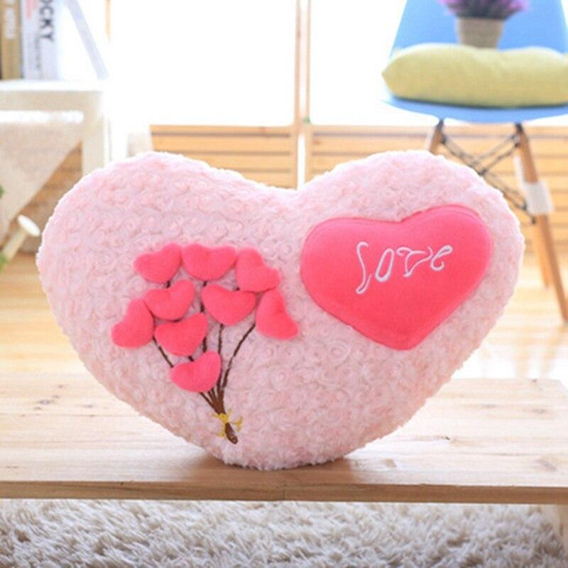 Coussin Coeur St-Valentin
