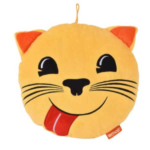 Coussin Emoji Chat