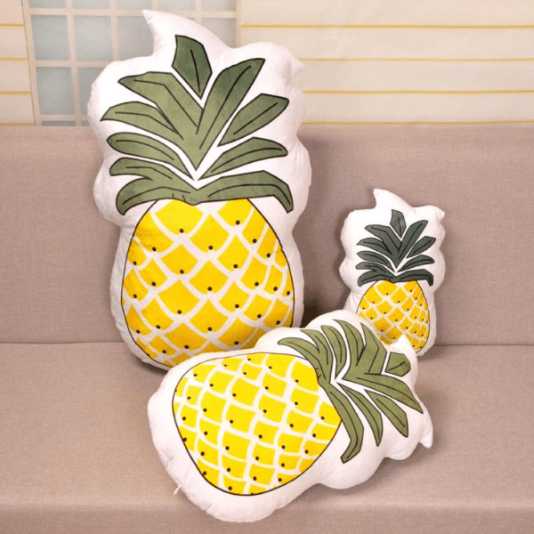 Coussin en Forme d'Ananas