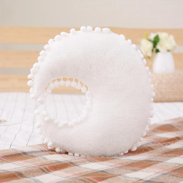 Coussin Lune Blanc