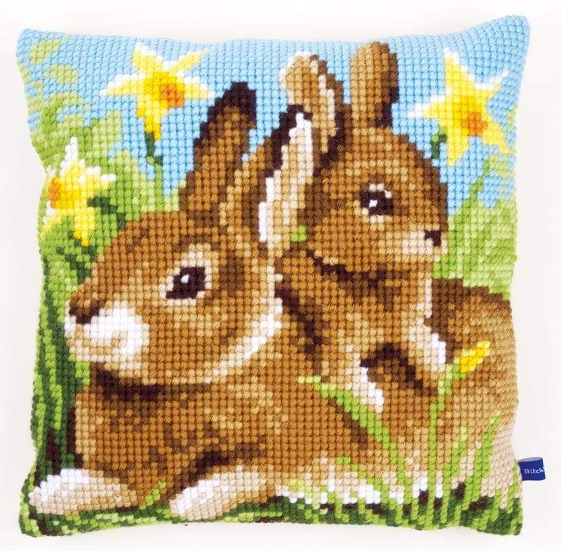 Coussin Lapin Couture