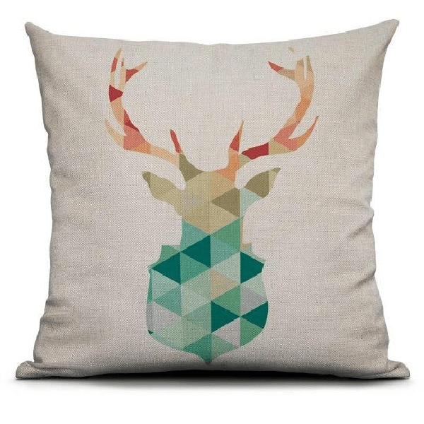 Coussin Cerf style Scandinave