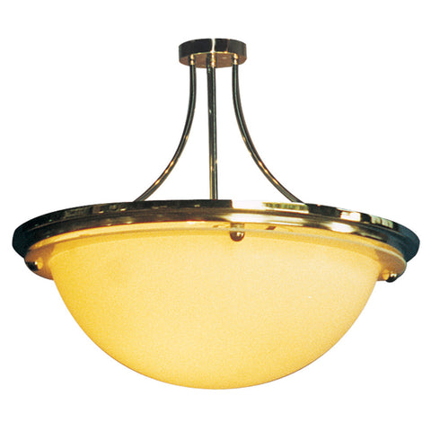 Parker Arched Short Stem Bowl Pendant Light