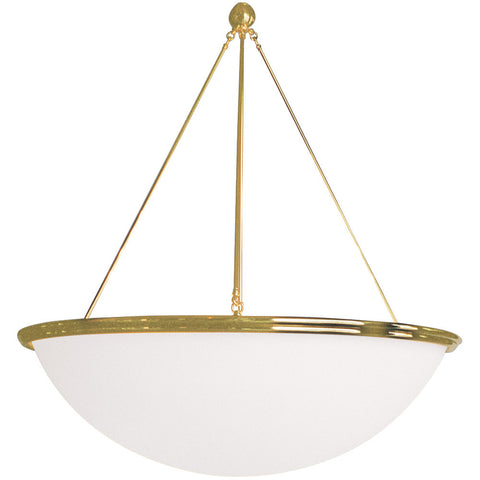 Carlyle bowl pendant light 4 tierod