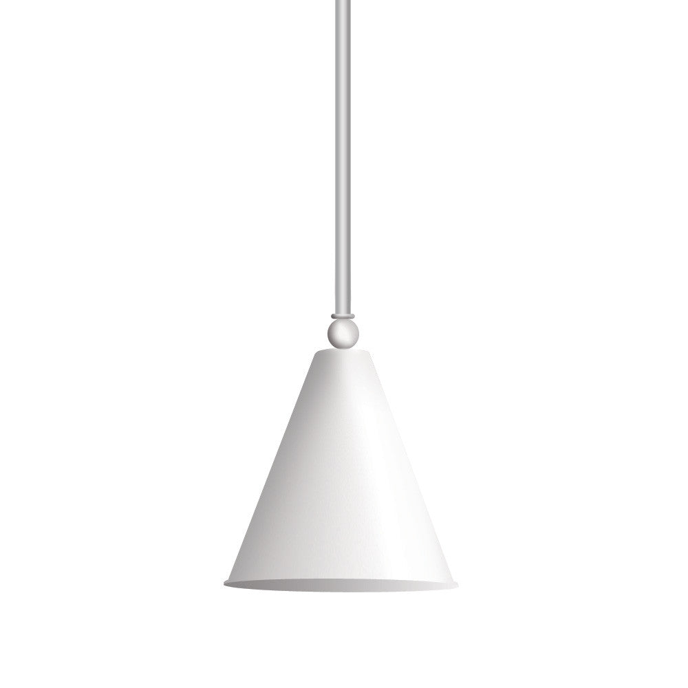Cone Food Warmer Light Fixture