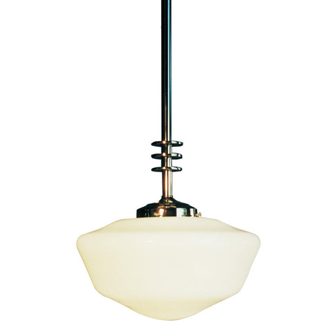 Deco Schoolhouse Pendant Light