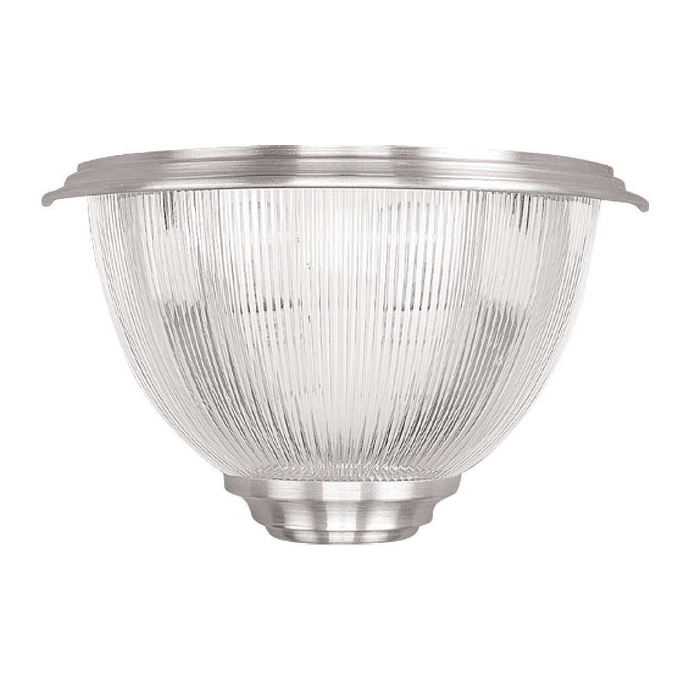 Prismatic Diffuser Light Sconce- Clear