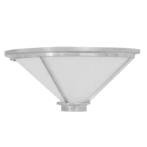 Aluminum Bowl Light Sconce