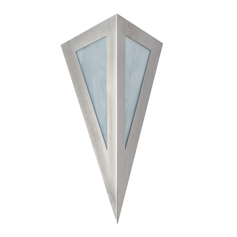 Modern Pyramid Light Sconce