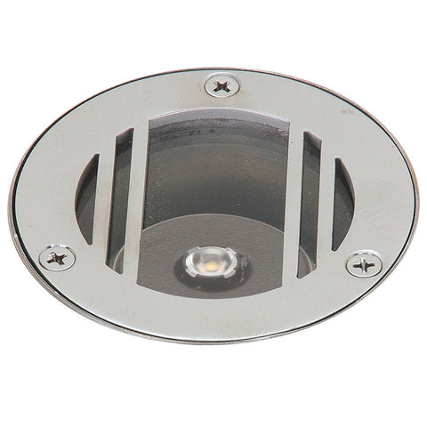 In-Ground Grate Mini Well Light