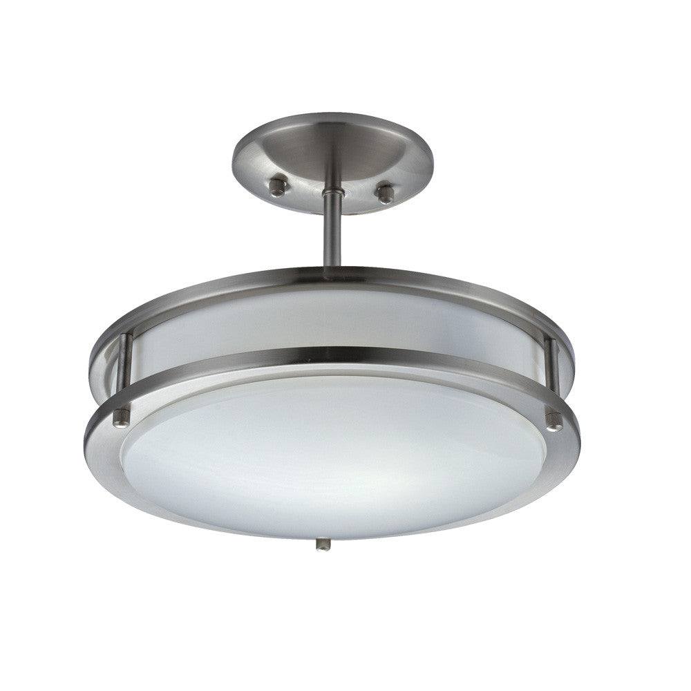 Contemporary Short Stem Pendant Light