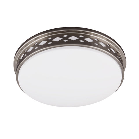 Diamond Trim Ceiling Light Fixture