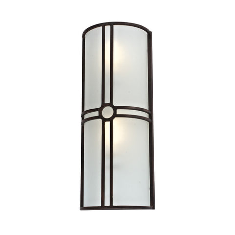 Deco Cross Sconce