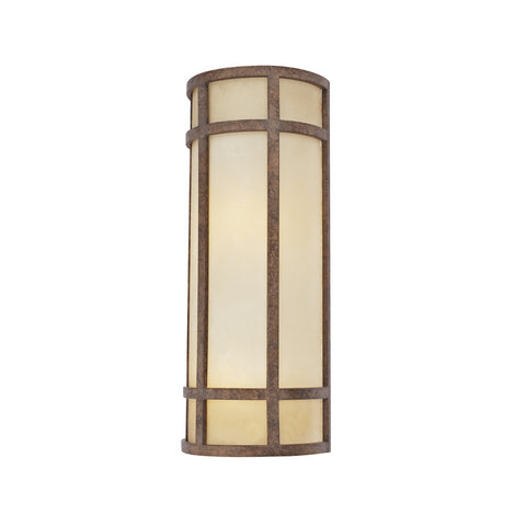 Amber Glass Sconce