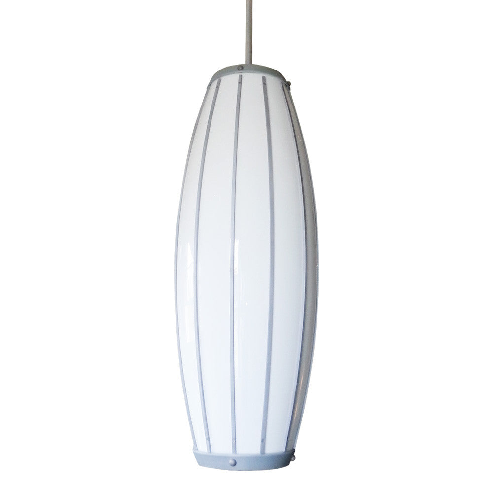 Contemporary Oblong Pendant Light '48