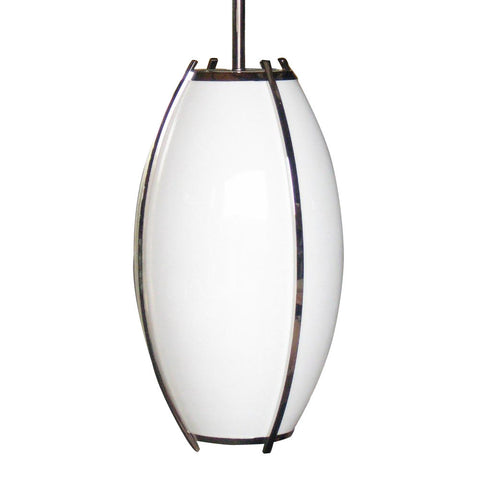 Contemporary Oblong Pendant Light