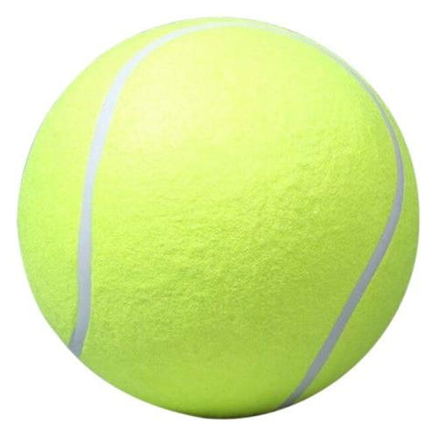 Giant Tennis Ball Dog Toy - dog lovers