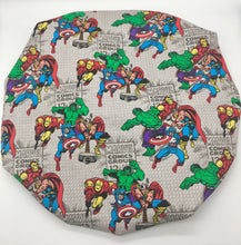 Load image into Gallery viewer, Kids Satin-Lined Bonnet: Marvel - Comic