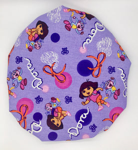 Kids Satin-Lined Bonnet: Dora