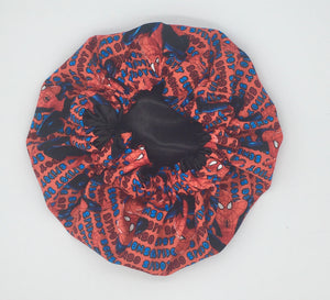 Baby Satin-Lined Bonnet: SpiderMan