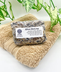 African Black Soap - 4 Ounces