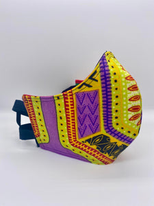 Dashiki: Contoured Adult Face Masks (One Size Fits Most; Ages 11+)
