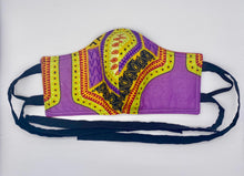Load image into Gallery viewer, Dashiki: Contoured Adult Face Masks (One Size Fits Most; Ages 11+)