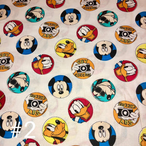 Licensed Prints - Disney Photo Shoot: Rectangle Kids Face Masks (One Size Fits Most; Ages 10 and under)