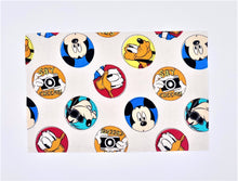 "Load image into Gallery viewer, Licensed Prints - Disney ""Say Cheese"": Contoured Adult Face Masks (One Size Fits Most; Ages 11+)"