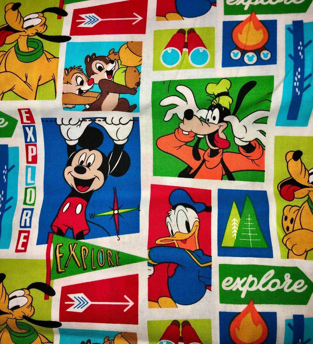 LIMITED EDITION Disney: Rectangle Adult Face Masks (One Size Fits Most; Ages 11+)