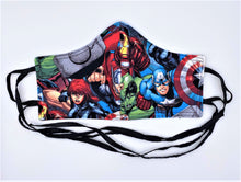 Load image into Gallery viewer, Licensed Print - Marvel: Contoured Adult Face Masks (One Size Fits Most; Ages 11+)