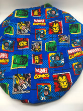 Load image into Gallery viewer, Kids Satin-Lined Bonnet: Marvel
