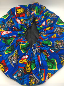 Kids Satin-Lined Bonnet: Marvel