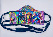 Load image into Gallery viewer, Dog Neon Portraits: Contoured Adult Face Masks (One Size Fits Most; Ages 11+)