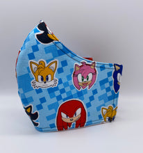 Load image into Gallery viewer, LIMITED EDITION - Sonic and Friends: Contoured Adult Face Masks (One Size Fits Most; Ages 11+)