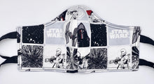 Load image into Gallery viewer, Licensed Print - Star Wars White: Contoured Adult Face Masks (One Size Fits Most; Ages 11+)