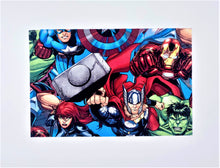 Load image into Gallery viewer, Licensed Print - Marvel: Rectangle Kids Face Masks (One Size Fits Most; Ages 10 and under)