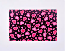 Load image into Gallery viewer, Pink Hearts: Rectangle Kids Face Masks (One Size Fits Most; Ages 10 and under)