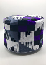 Load image into Gallery viewer, Scrub Cap: Purple and Black