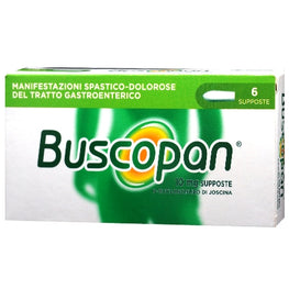 BUSCOPAN*6 supp 10 mg