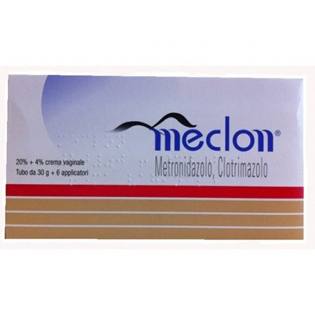 MECLON*crema vaginale 30 g 20% + 4% + 6 applicatori