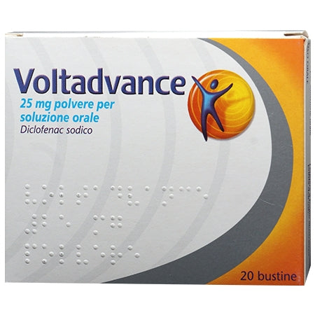 VOLTADVANCE*20 bust polv orale 25 mg