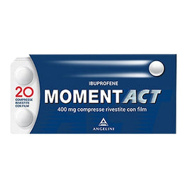 MOMENTACT*20 cpr riv 400 mg