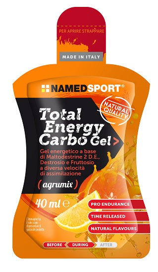 TOTAL ENERGY CARBO GEL AGRUMIX 40 ML