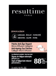 RESULTIME PATCHS ANTI AGE REGARD 10 ML