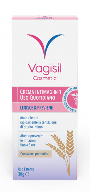 VAGISIL CREMA INTIMA 2 IN 1 USO QUOTIDIANO 30 G