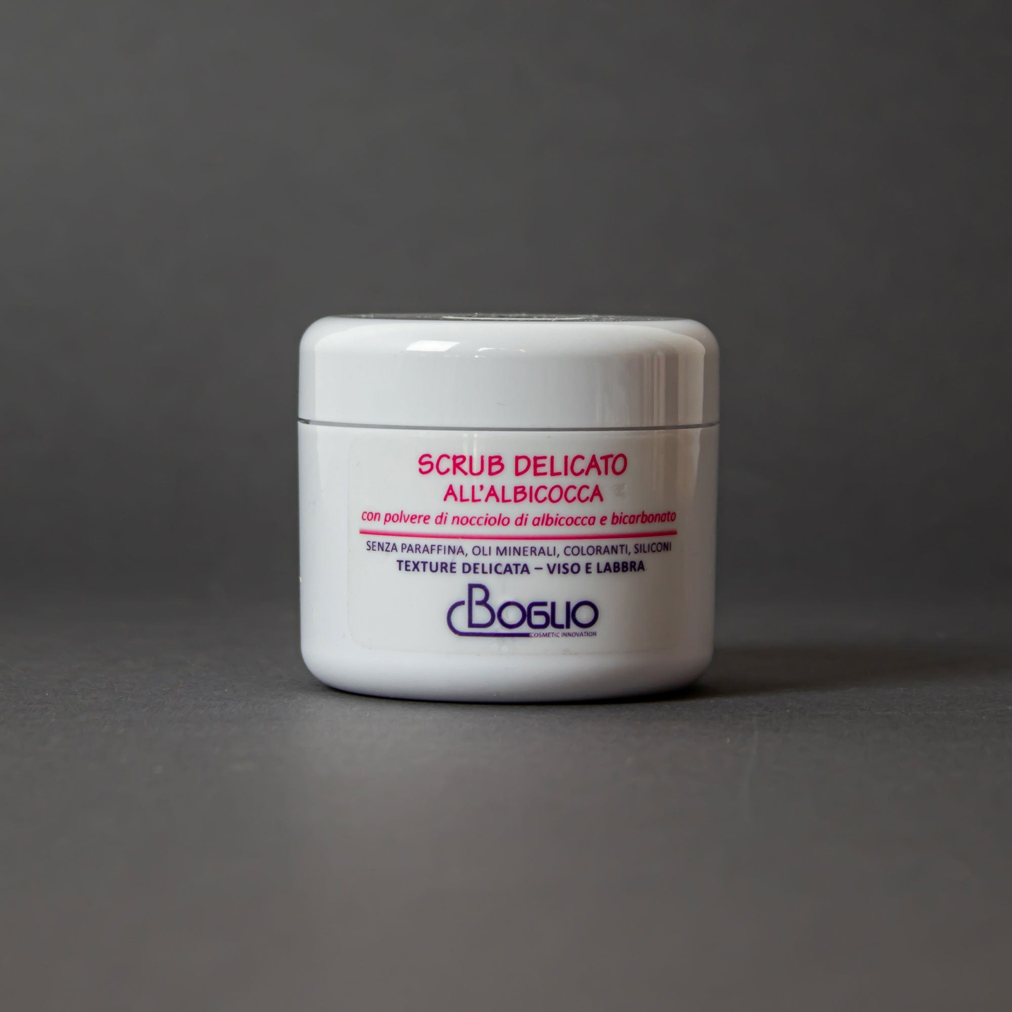 Boglio Cosmetic Innovation Scrub Delicato all'Albicocca 50 ml